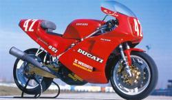 1988 851 superbike usine