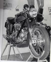 Ducati 750 dunstall