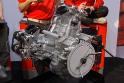 Ducati desmoquattro at 2009 seattle international motorcycle show 2