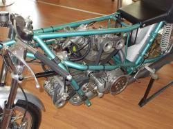 Ducati 500 gp prototipo armaroli without fairing and gas tank 2