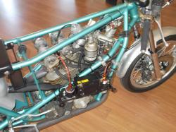 Ducati 500 gp prototipo armaroli without fairing and gas tank 3