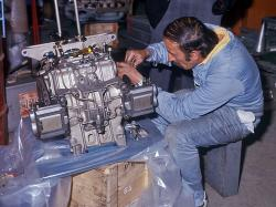 Ferrari 312t gearbox
