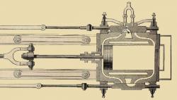Lenoir motor querschnitt