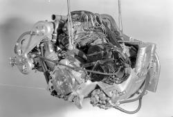 Mercedes benz w196 engine