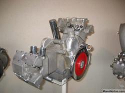 Moto guzzi 1948c 120 v twin engine