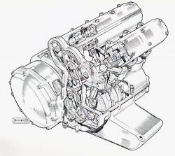 Norton 1950 prototype 4 cylindres