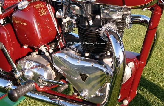 Triumph speed twin engine lg