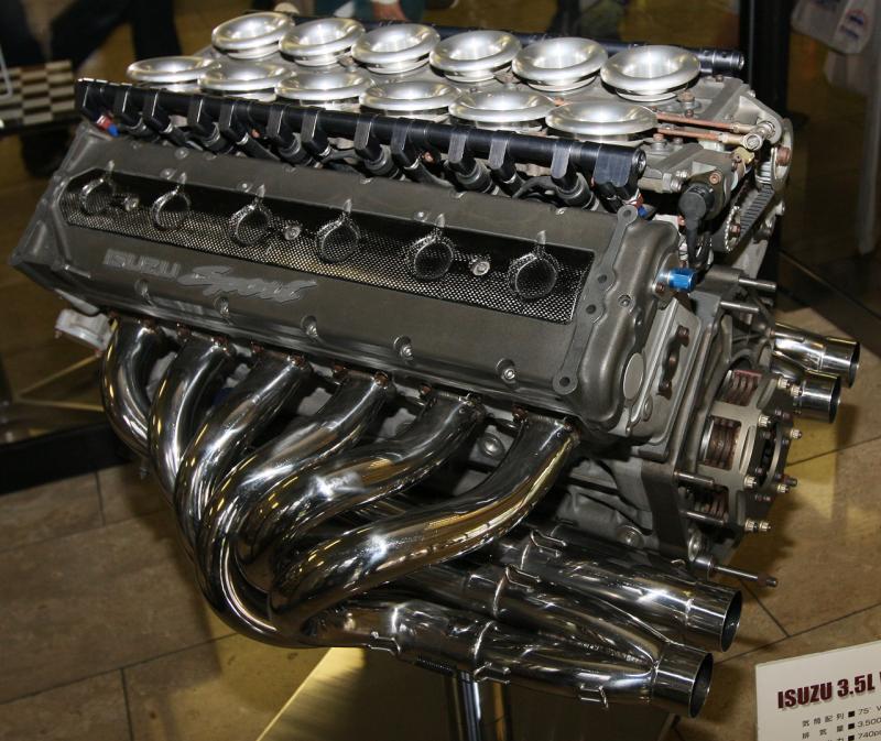V12 isuzu 1989